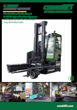 Electric Four-way Forklift Trucks Combi-Lift C 4000 ET