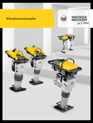 4-stroke Gasoline Vibrating Tampers Wacker Neuson BS 60-4 s 11