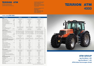 4WD Tractors Terrion ATM 4160