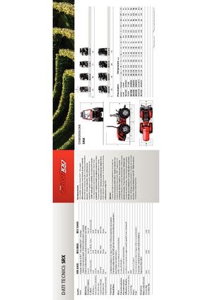 Tractors 4WD Carraro SRX 8400