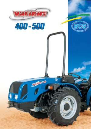 Traktörler 4wd BCS Valiant 500 AR