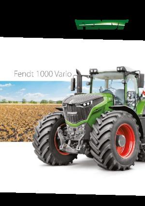 Tractors 4WD Fendt 1046 Vario