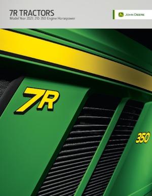 Traktörler 4wd John Deere 7R 210