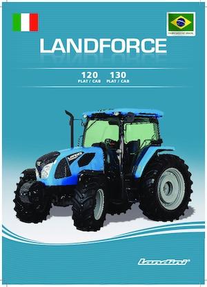 Traktörler 4wd Landini LANDFORCE 120
