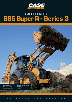 Backhoe Loaders Case 695 SR 2