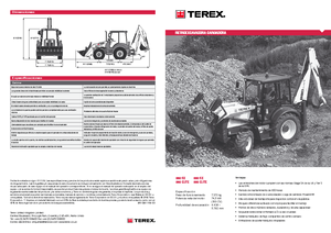detailed 860 sx terex es technical specification in 1 pdf rh lectura specs com Terex Services T30 terex 860 sx service manual
