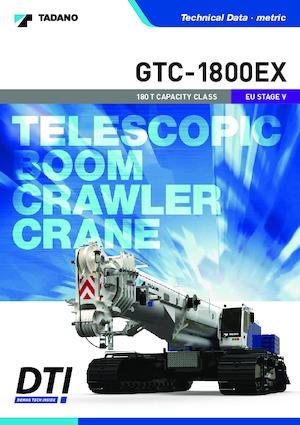 Paletli vinçler - teleskopik bom Tadano GTC-1800EX