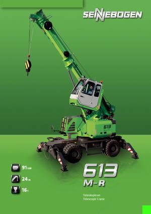 sennebogen 5500 crawler crane pdf