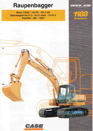 Crawler Excavators Case Poclain 1188 LC