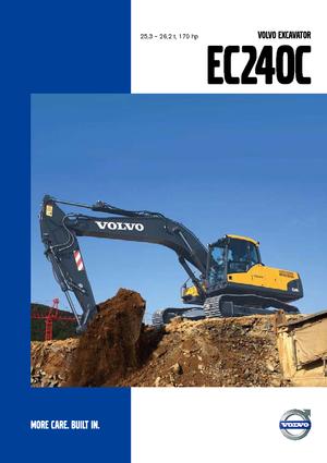 Crawler Excavators Volvo EC240CL