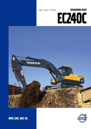 Crawler Excavators Volvo EC240CL