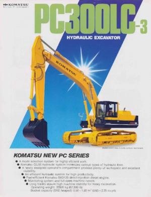 Paletli ekskavatörler Komatsu PC150NHD-3