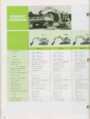 Paletli ekskavatörler Komatsu PC300-2