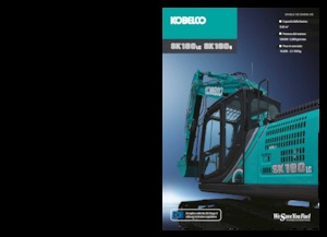 Crawler Excavators Kobelco SK 180 LC 10E