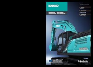 Paletli ekskavatörler Kobelco SK 350 NLC 10E