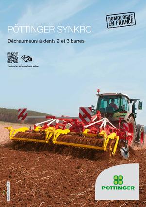 Cultivators Pöttinger Synkro 4020 K nova