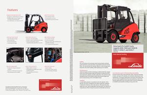 Front-forklifts diesel Linde H 40 D
