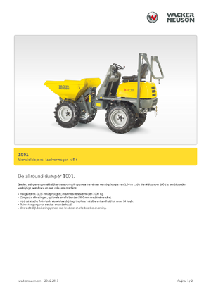 detailed 1001 neuson nl technical specification in 1 pdf lectura rh lectura specs com