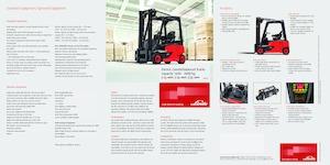 Electric Front-Forklift  Trucks Linde E 16 P