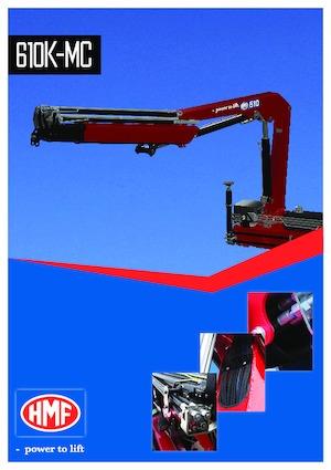 Hydraulic loading cranes HMF 610-K1
