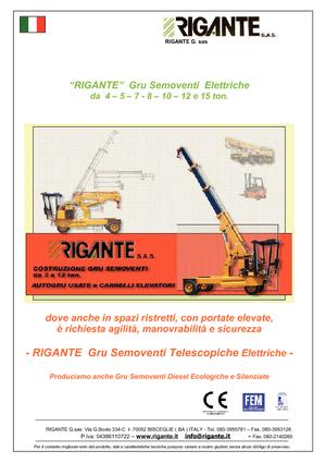 Industrial mobile cranes Rigante GR 50