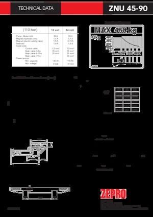 Loading platforms ZEPRO ZNU 45-90