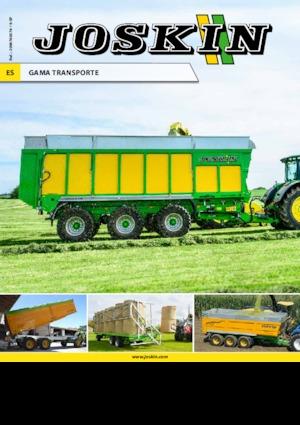 Low bed trailers Joskin WAGO-LOADER LTR12000T20