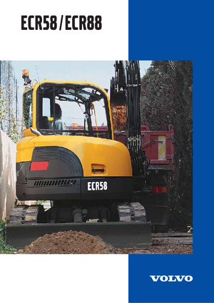 Mini Excavators Volvo ECR58