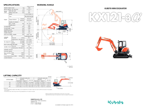 Control Cables furthermore Kubota toy backhoe additionally Aftermarket Tractor Buckets also 3904 in addition Hitachi Zx50. on kubota mini excavator models