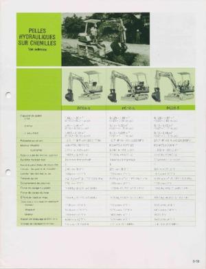 Mini ekskavatörler Komatsu PC05-5