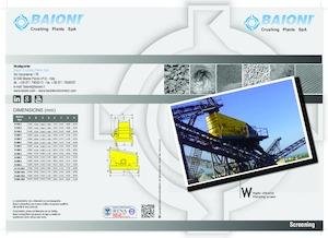 Mobil tarama tesisleri Baioni W500/2