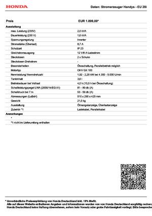 detailed eu 20i honda de technical specification in 1 pdf rh lectura specs com Generators Honda Manual2kv Generators Honda Manual2kv