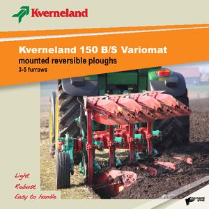 Ploughs Kverneland 150 S 100