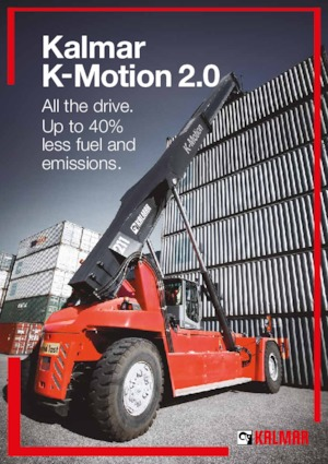 Reach stacker Kalmar DRG420-60S5E