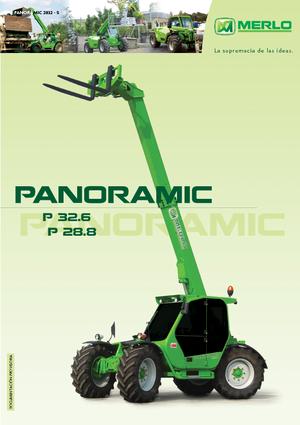 Telescopic Handlers Merlo Panoramic P 32.6 L Plus