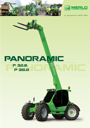 Telescopic Handlers Merlo Panoramic P 32.6 L Plus