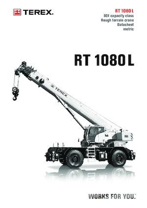 Rough-terrain Cranes TEREX CRANES RT 1080 L