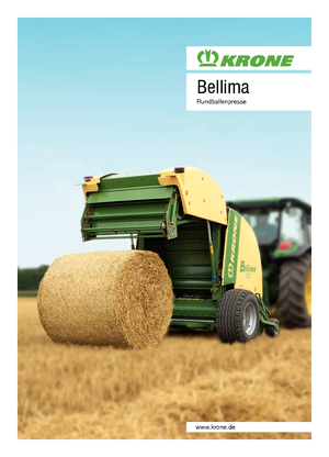 detailed bellima f 130 krone de technical specification in 1 pdf rh lectura specs com