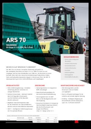Single-drum Rollers Ammann ARS 70