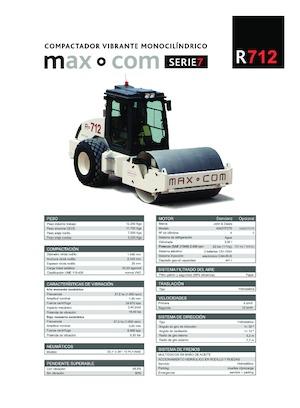 Single-drum Rollers Max-Com R 712