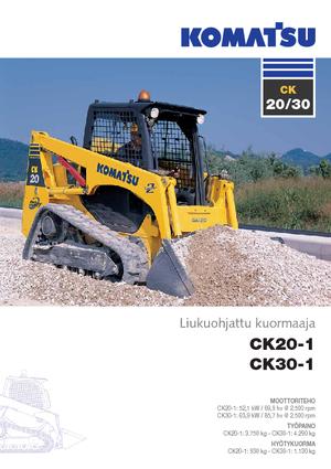 Skid Steer Loaders Komatsu CK30-1