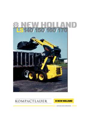 Skid Steer Loaders New Holland LS 160