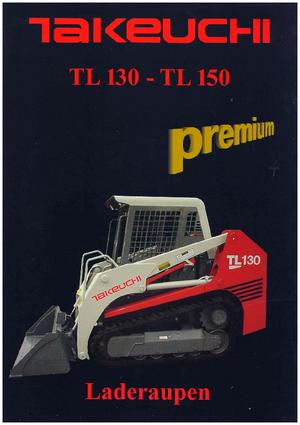 Takeuchi Tl130 Specs