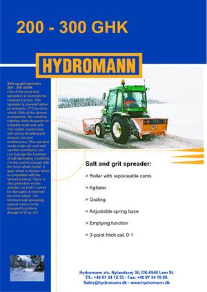 Spreader Attachments Hydromann 200 G