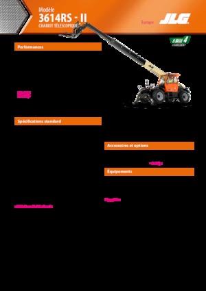 Teleskopik yükleyiciler JLG 3614 RS