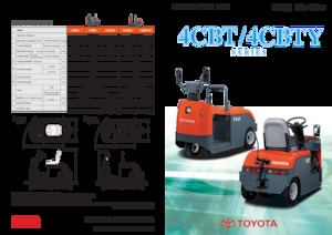 Tow tractors Toyota 4 CBTY 2