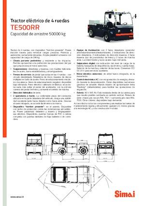 Çekici traktörler Simai TE 500 RR