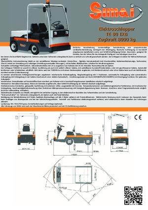 Çekici traktörler Simai TE 80 IXB ac
