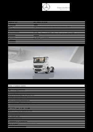 Tractor Mercedes-Benz Actros 1824 LS 4x2