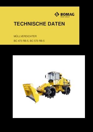 Waste Compactors Bomag BC 473 RB 5